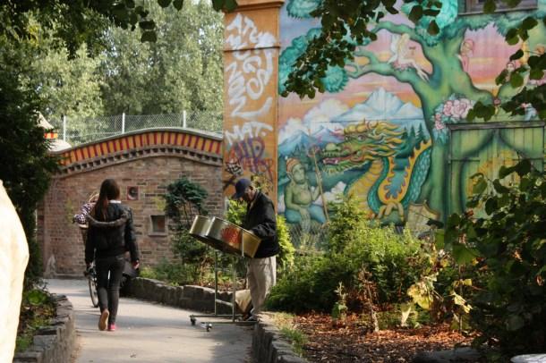 Gateway to Christiania, Entrance to Christiania, Graffiti, Copenhagen