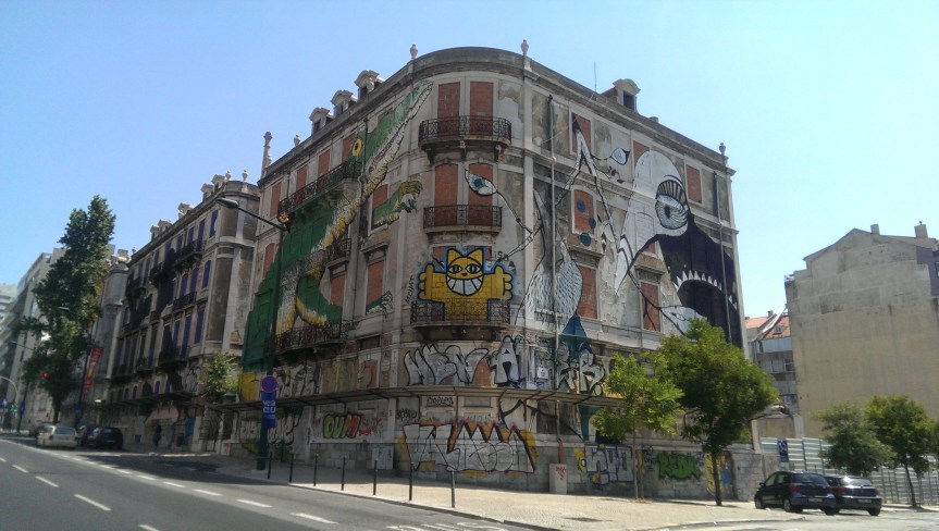 street art in Lisbon, things to do in Lisbon