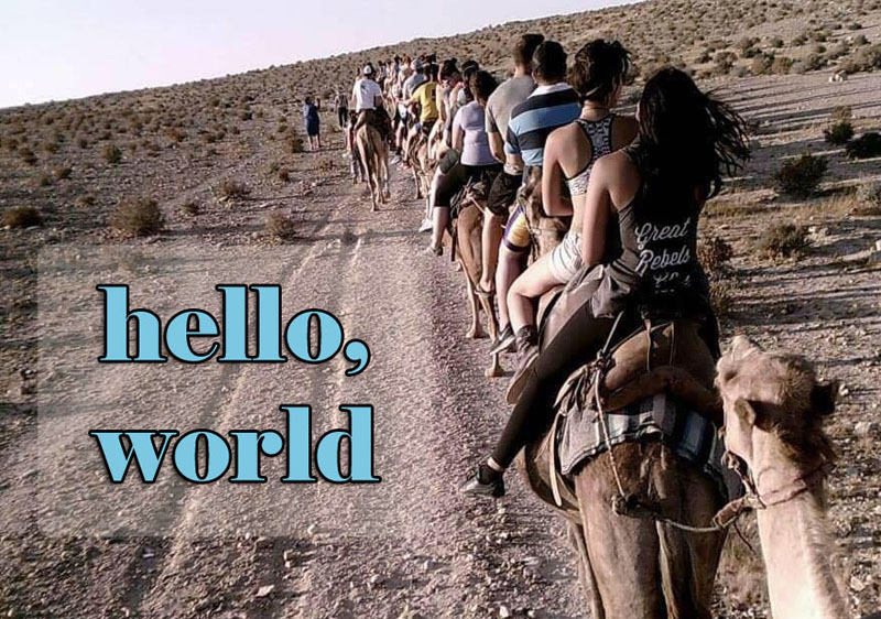 hello, world. welcome to my blog.