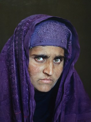 The Afghan Girl - 17 years later