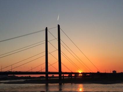 Dusseldorf Sunset