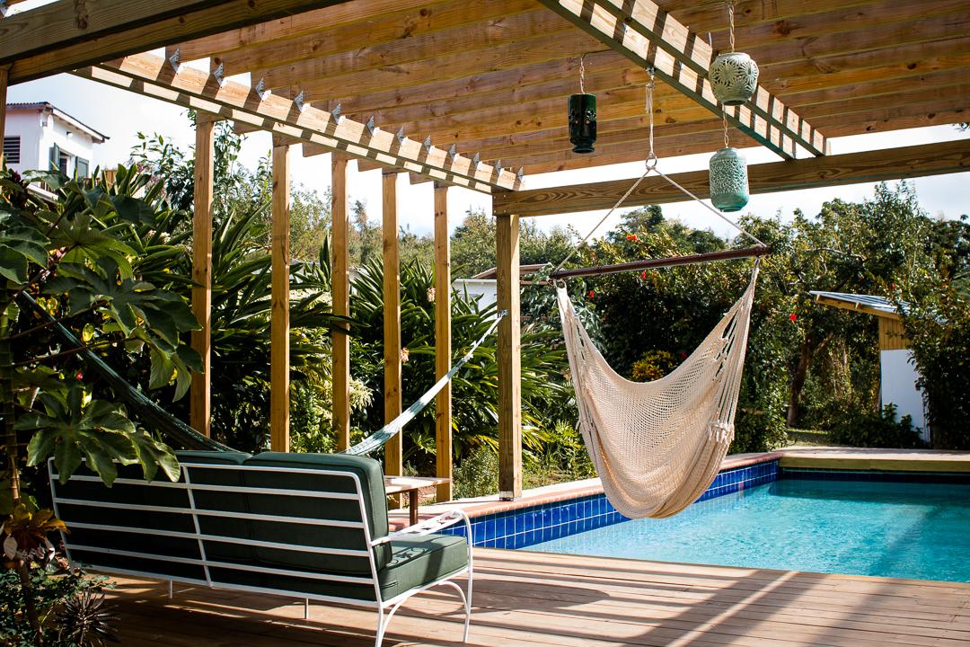 Pool at Finca Victoria, Vieques, Puerto Rico, Hotel