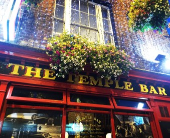 The Temple Bar (sadly not a stop on the pub crawl)