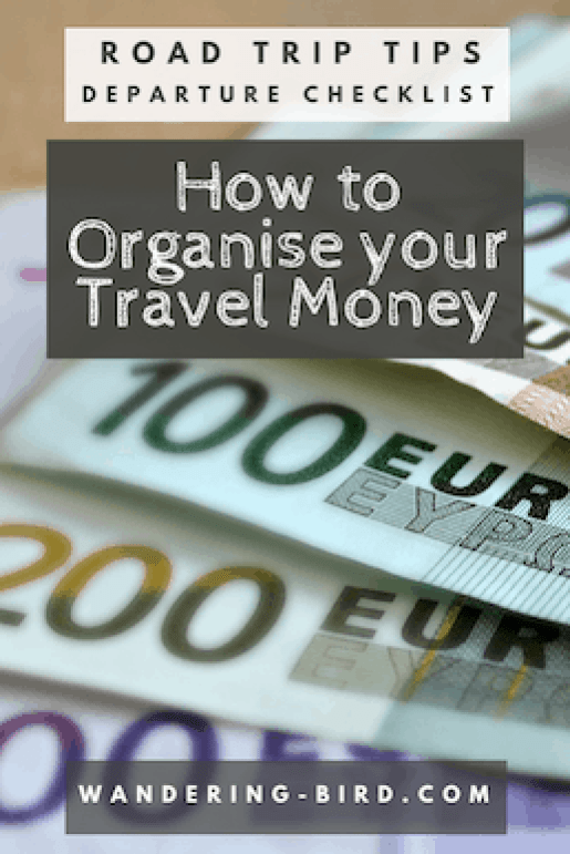 Where's the best place to order Euros Online? How do you find the best exchange rate on the high street? What travel money do you need for your Road Trip? #travelmoney #roadtrip #motorhome #travel #europe #adventure #wanderingbird