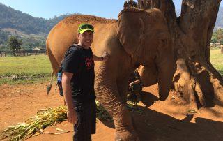 adam with elephant