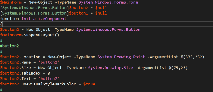 Building a GUI with Windows Forms in Visual Studio
