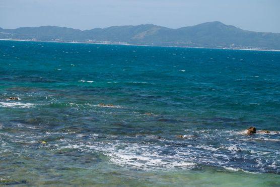 the view from uken beach