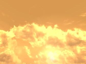 Dusk sky, Lonelands