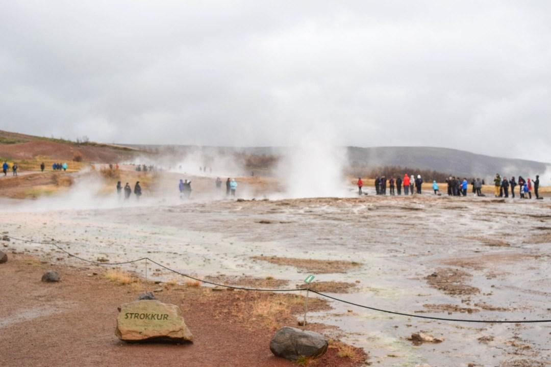 Strokkur Geyer: Golden Circle Iceland