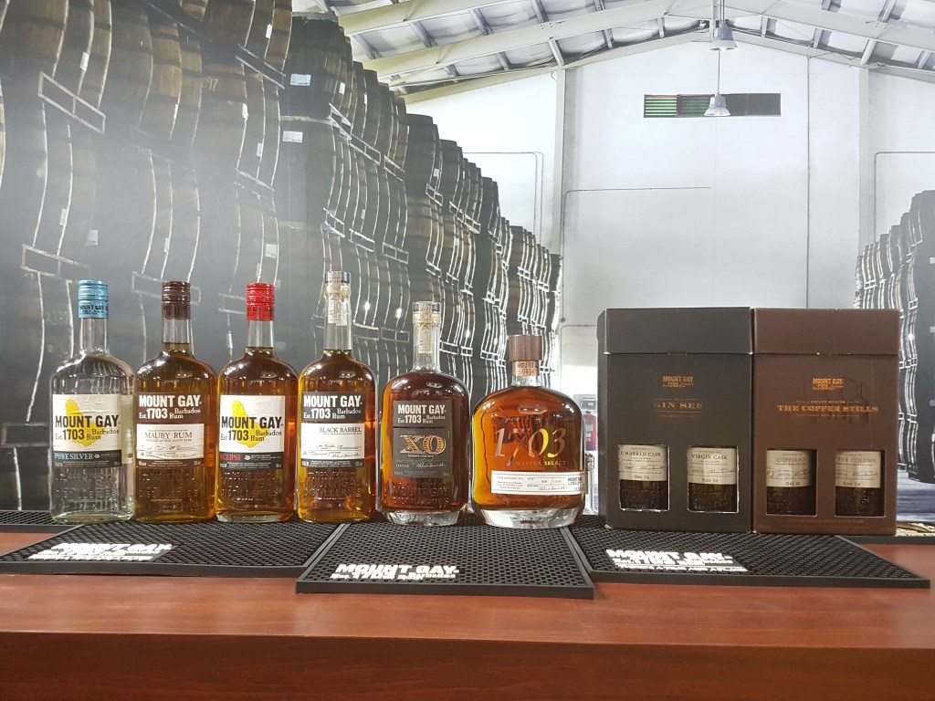 Cruise ship itinerary: Mount gay Rum Tour