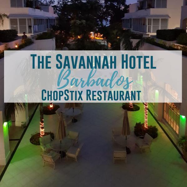 The Savannah Hotel: Chopstix Restaurant