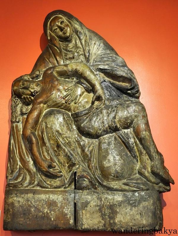 Pieta by an unknown artist (Wood)