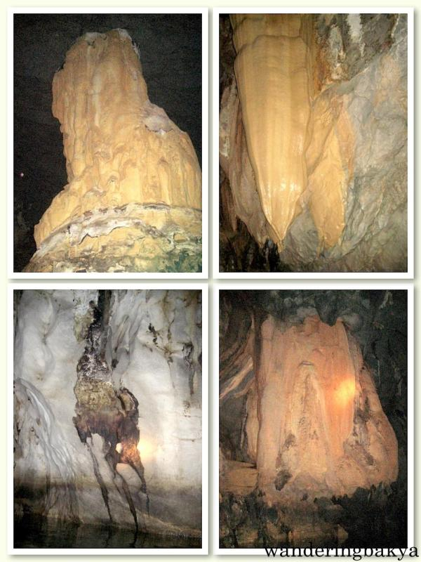 Stalactite formations inside the cave that houses the Puerto Princesa Underground River