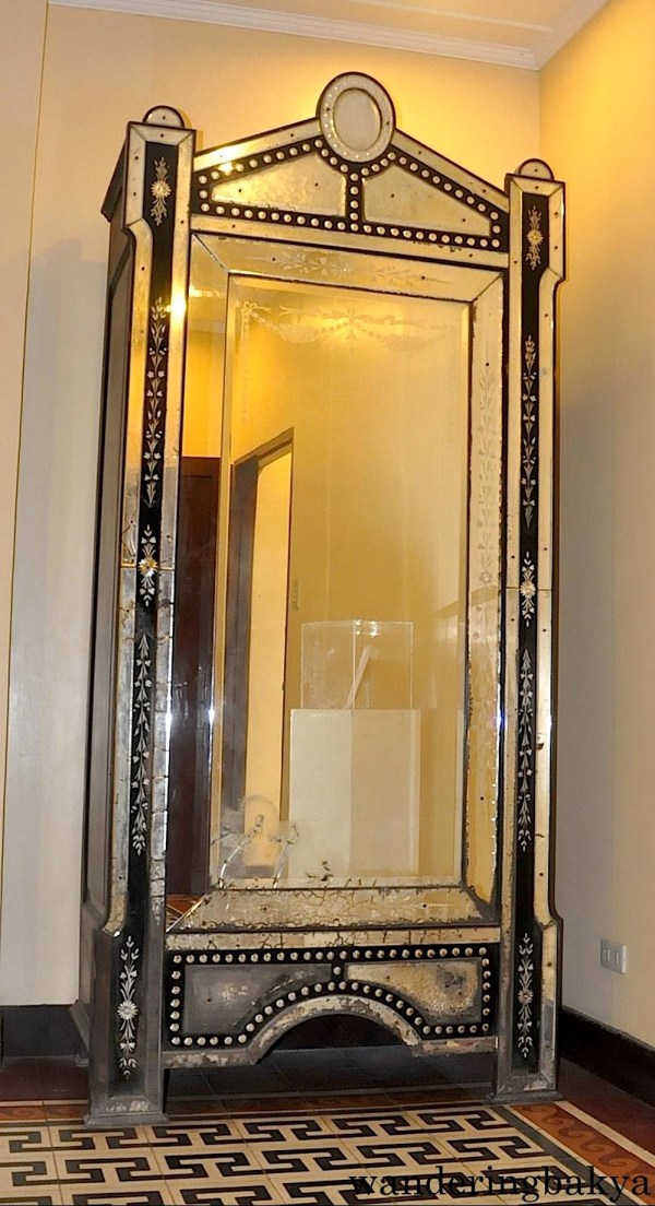This cabinet was a birthday gift for then-Senate President Quezon from the other senators