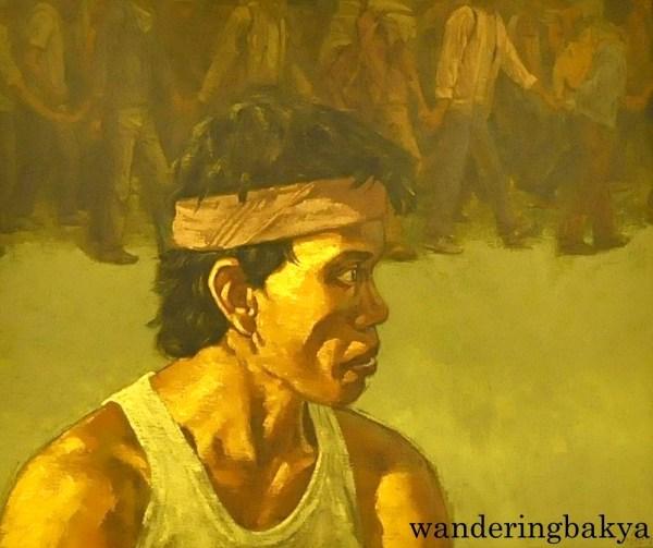 Francisco. Ang Paglalakbay by Antipas Delotavo (Oil on canvas