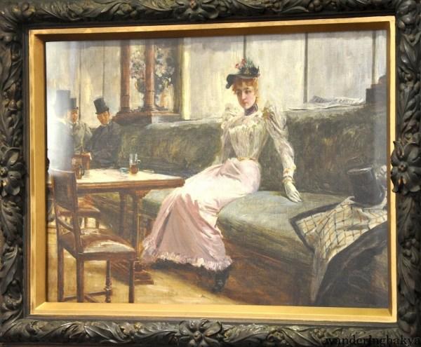 La madre. Parisian Life by Juan Luna (Oil on canvas