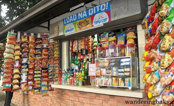 Sari-sari store, a common sight in Philippine streets. They sell everything but the kitchen sink.