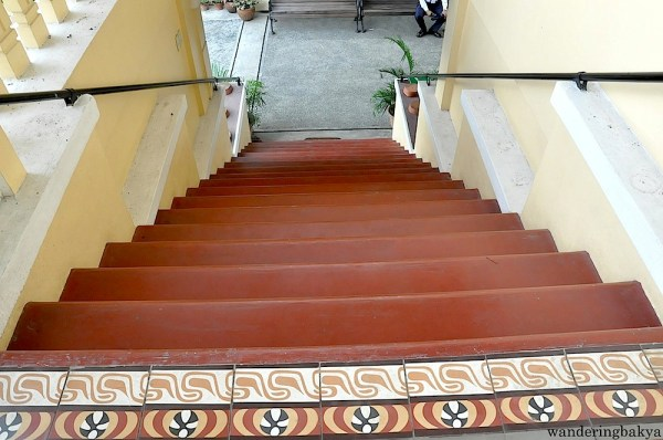 View of the beautiful stairs from the second floor