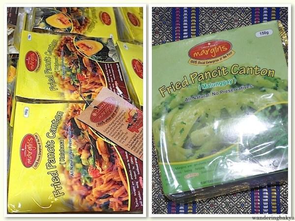 Pancit Kalabasa (squash) and Malunggay (horseradish)