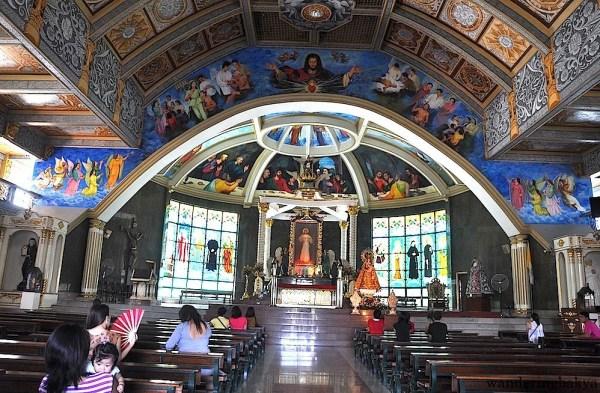 Inside the Divine Mercy Shrine