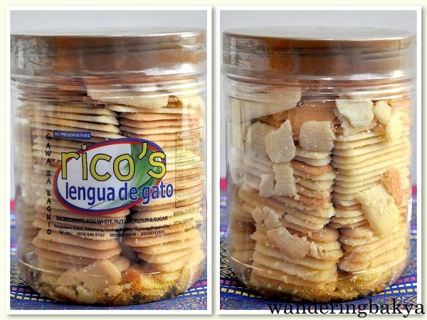 Lengua de gato (tongues of the cat). I am sure the tongue of the cat is not as light or as yummy as this one.