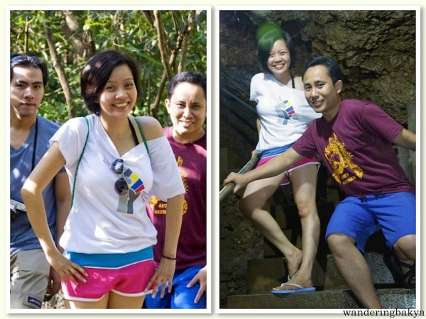 In Bolinao, Pangasinan with Rocs and Jed. Photos by Laurence