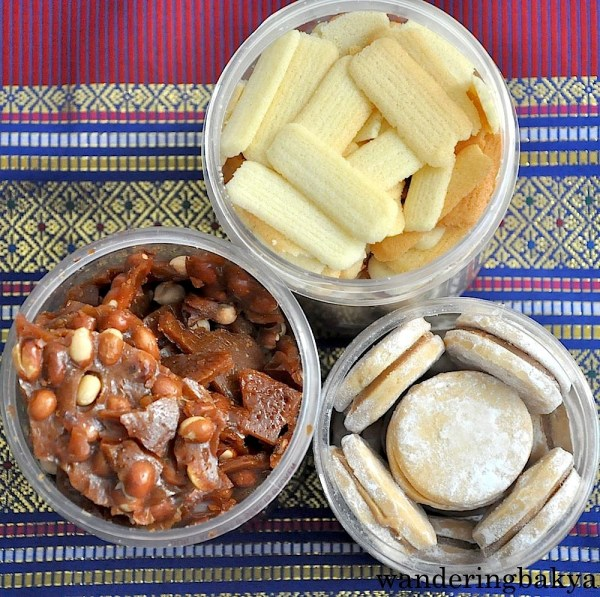 My top three treats from Baguio: peanut brittle, lengua de gato and alfajor