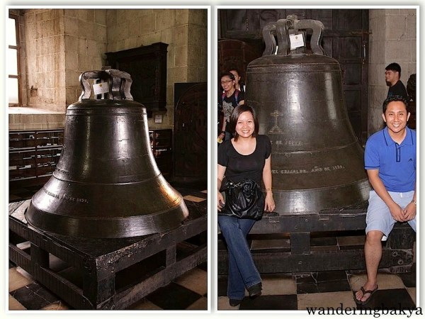 Bell at San Agustin Museum. This photo was taken in April 2011. Photo by John