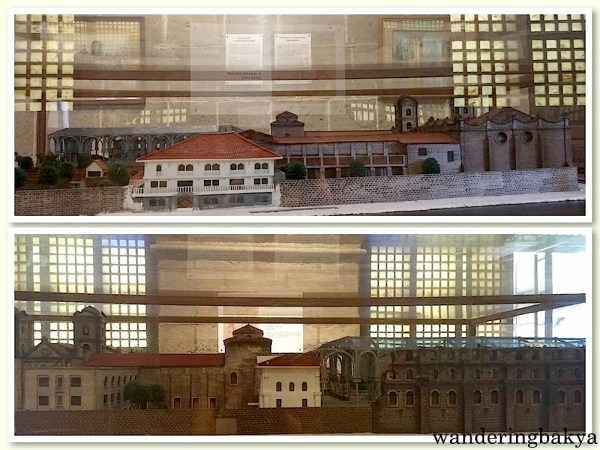Scale Model of San Agustin (Intramuros, Manila), left and right sides