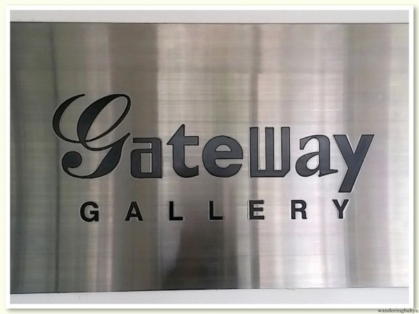 Gateway Gallery - home of the Sining Saysay exhibit since November 21, 2014