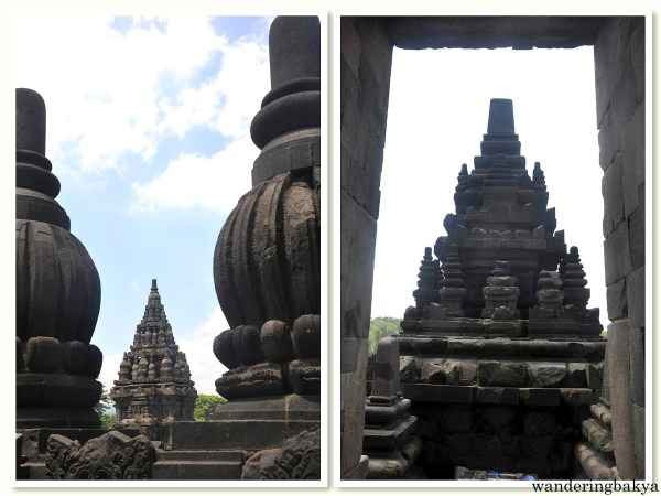 Details of Prambanan temples