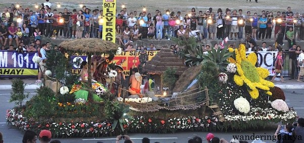 Float from Baguio City