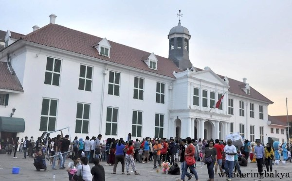 The Town Hall of Batavia is now the Jakarta History Museum.