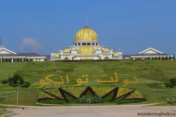 Istana Negara or National Palace is the former residence of Malaysia's Supreme King.