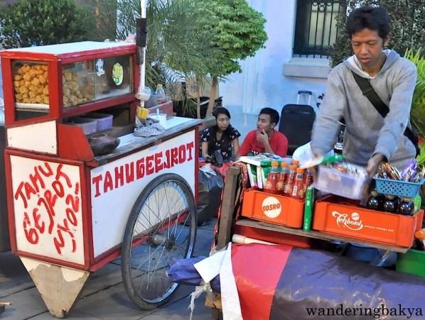 Street food in Old Bavaria, Jakarta