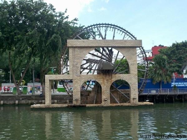 Melaka Malay Sultanate Water Wheel