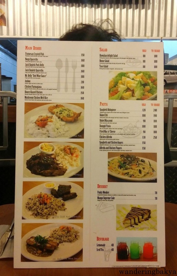 Mad for Pizza (SM City Manila) menu, page 2