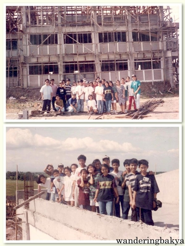 We visited the site of our campus. :) Photos courtesy of Jed.