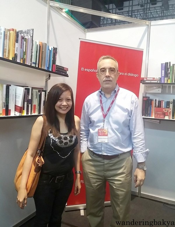With Manolo at the ICM booth at The 36th Manila International Book Fair