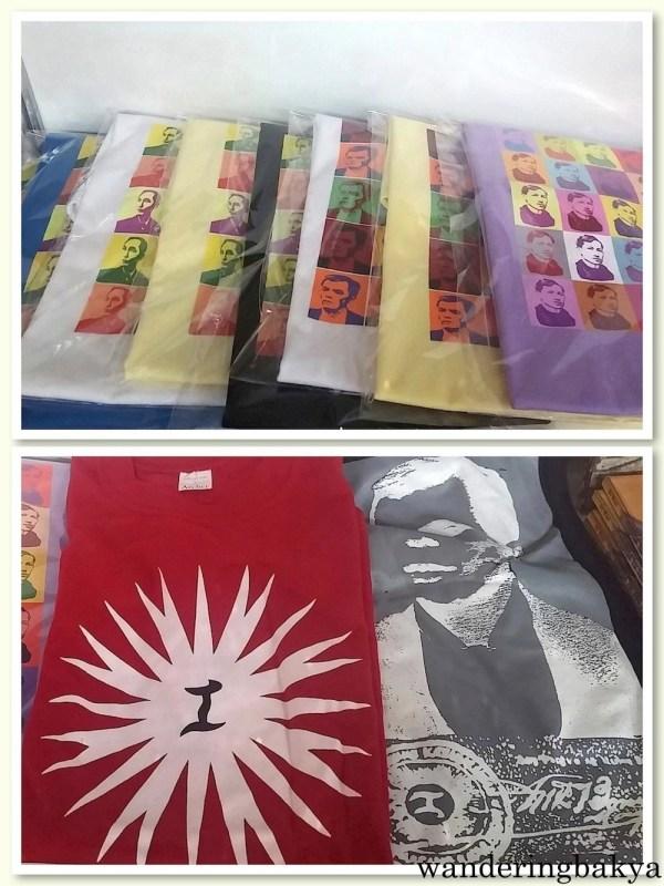 Jose Rizal shirts.