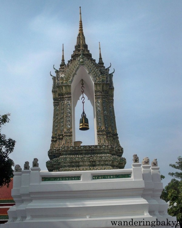 Wat Po belfry near the Missakawan Park