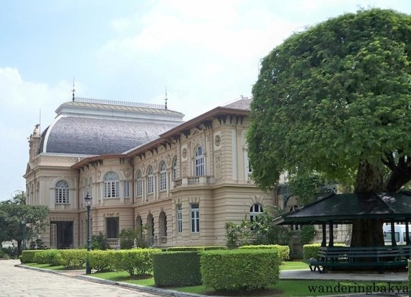 The Borom Phiman Mansion. Built in western style in 1903 by King Rama V for the future King Rama VI.