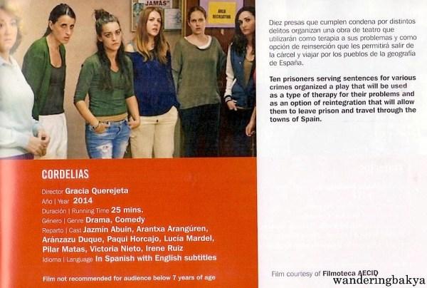 Cordelias directed by Gracia Querejeta (25 minutes)