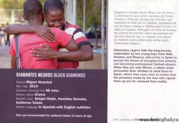 Diamantes Negros (Black Diamonds) directed by Miguel Alcantud, 2014