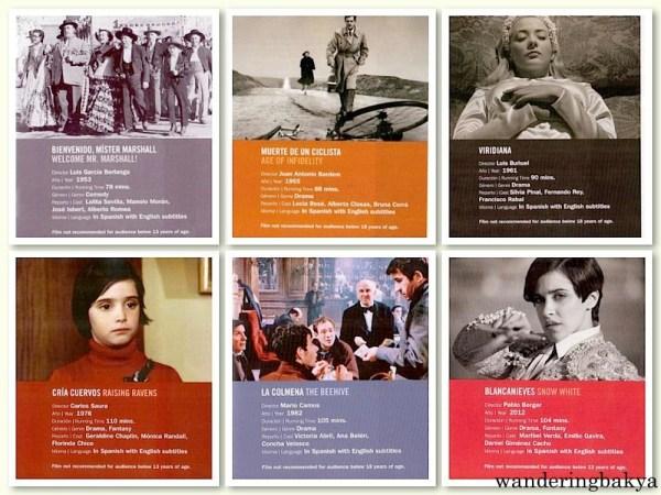Iconos del Cine Español (Iconic Films of Spanish Films)