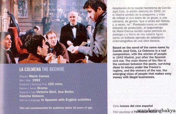 La Colmena (The Beehive) directed by Mario Camus, 1982