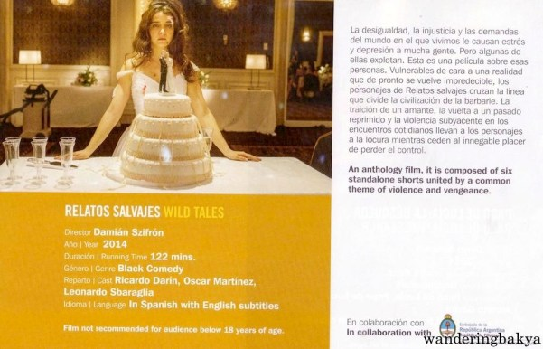 Summary and other details of Relatos Salvajes (Wild Tales) by Damián Szifrón