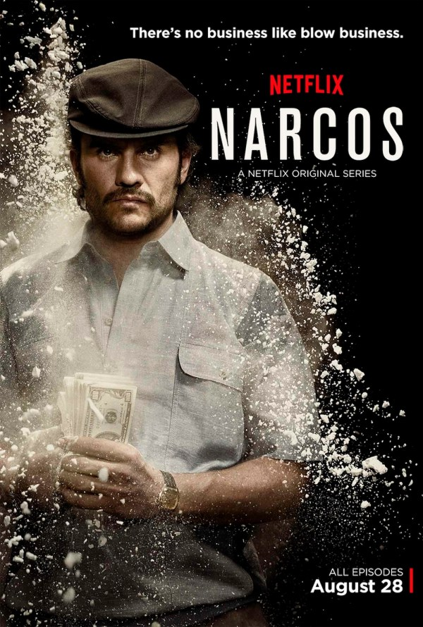 Juan Pablo Raba as Gustavo Gaviria, Pablo Escobar's cousin, in Netflix's Narcos. Photo from takesontech.com.