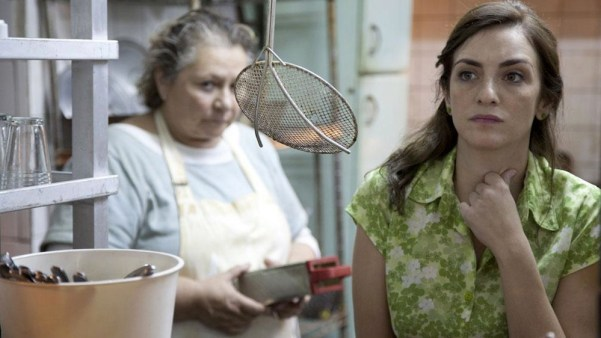 Las Ratas, the second story of Relatos Salvajes. With Rita Cortese and Julieta Zybelberg. Photo from vos.lavoz.com.ar.
