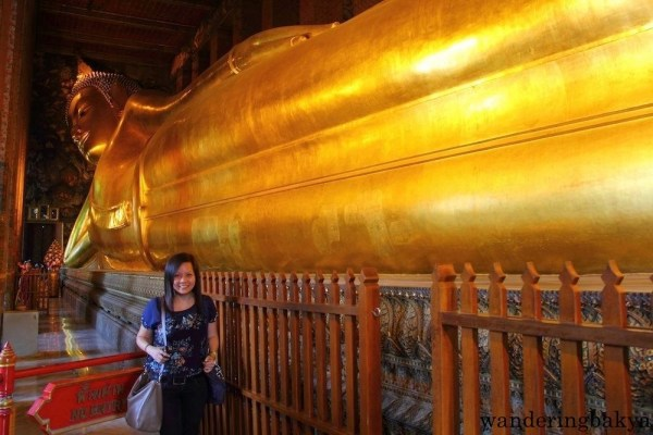 The Reclining Buddha and I.